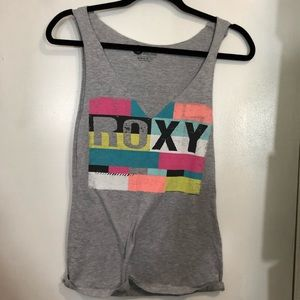 Roxy Distressed Tank